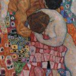 """Η δημιουργία τέχνης είναι μια προσπάθεια εξασφάλισης μιας μορφής αθανασίας. Εδώ εικονίζεται ο πίνακας του Gustav Klimt (1862- 1918) """"Θάνατος και Ζωή""""."""