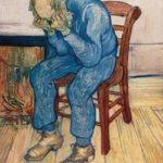 """Η θλίψη έχει κατά καιρούς συνδεθεί με μεγάλους καλλιτέχνες και μεγάλα έργα τους. Εδώ πίνακας του Βίνσεντ βαν Γκογκ με τίτλο """"Old man in sorrow"""" (On the Threshold of Eternity)."""