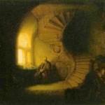 Από τον πίνακα του Ρέμπραντ «Φιλόσοφος σε διαλογισμό» (1632).