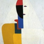 """Who speaks through me"", πίνακας του Kazimir Malevich."