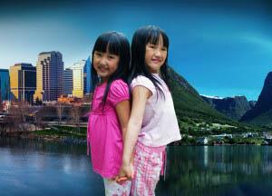 Provoli Twin sisters