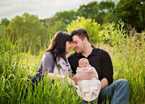 Η τριαδικότης της οικογένειας λειτουργεί όταν ο πατέρας είναι σε θέση να εκδηλώνει την επιθυμία του για την μητέρα του παιδιού του.